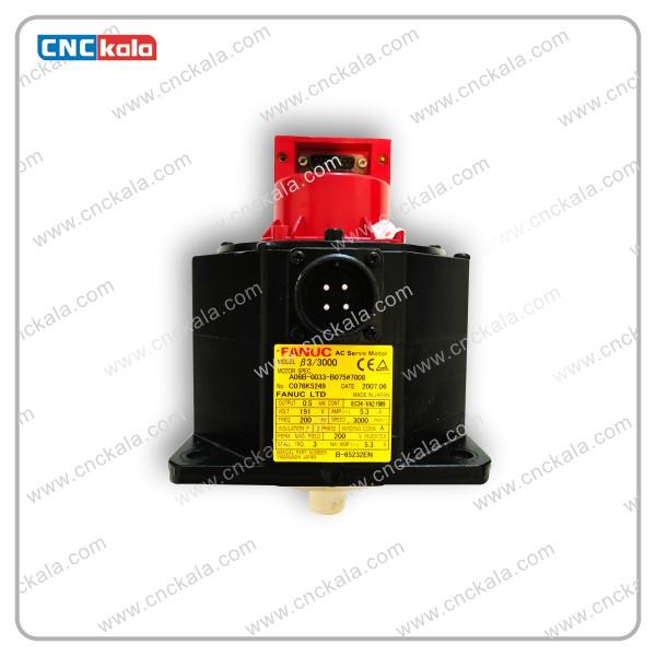 سروو موتور AC سیستم FANUC مدل A06B-0033-B075